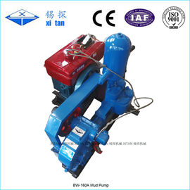 Double Acting Hydraulic Cylinder Drilling Mud Pump For Geological Exploration BW - 160